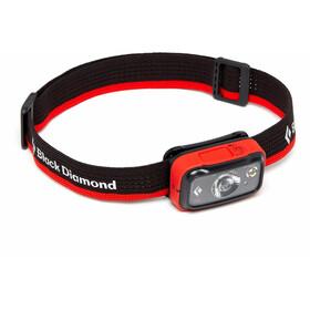 Black Diamond Spot 350 Lampada Frontale, nero/rosso